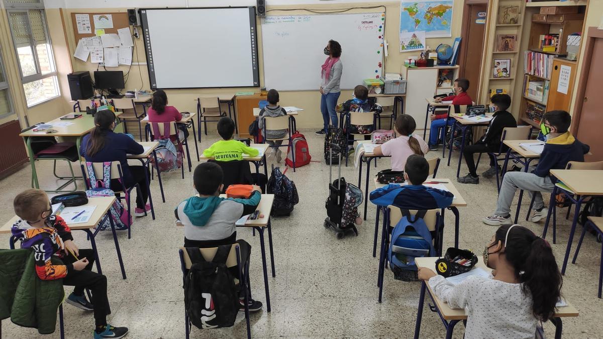 Colegio de Alicante, imagen de archivo