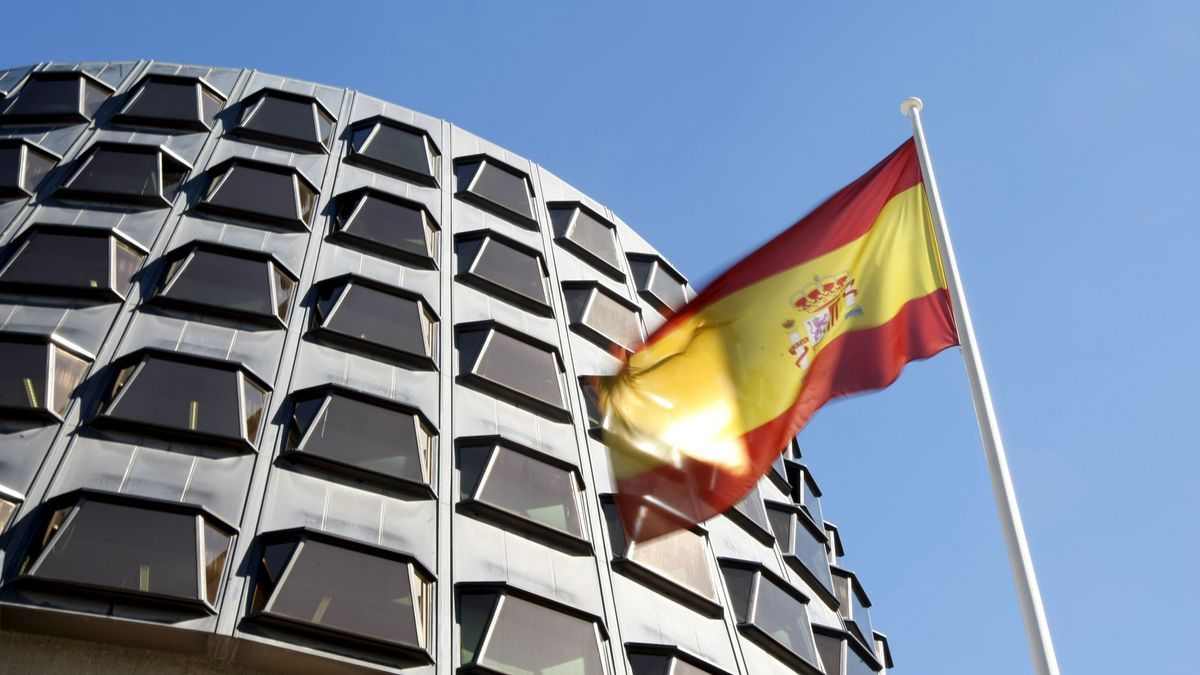 Der Sitz des spanischen Verfassungsgerichts, des Tribunal Constitucional, in Madrid.