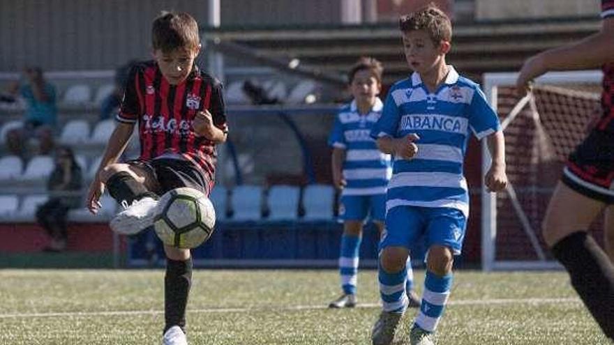 El Conxo se impone al Deportivo en la final del Memorial Ramón Barcala