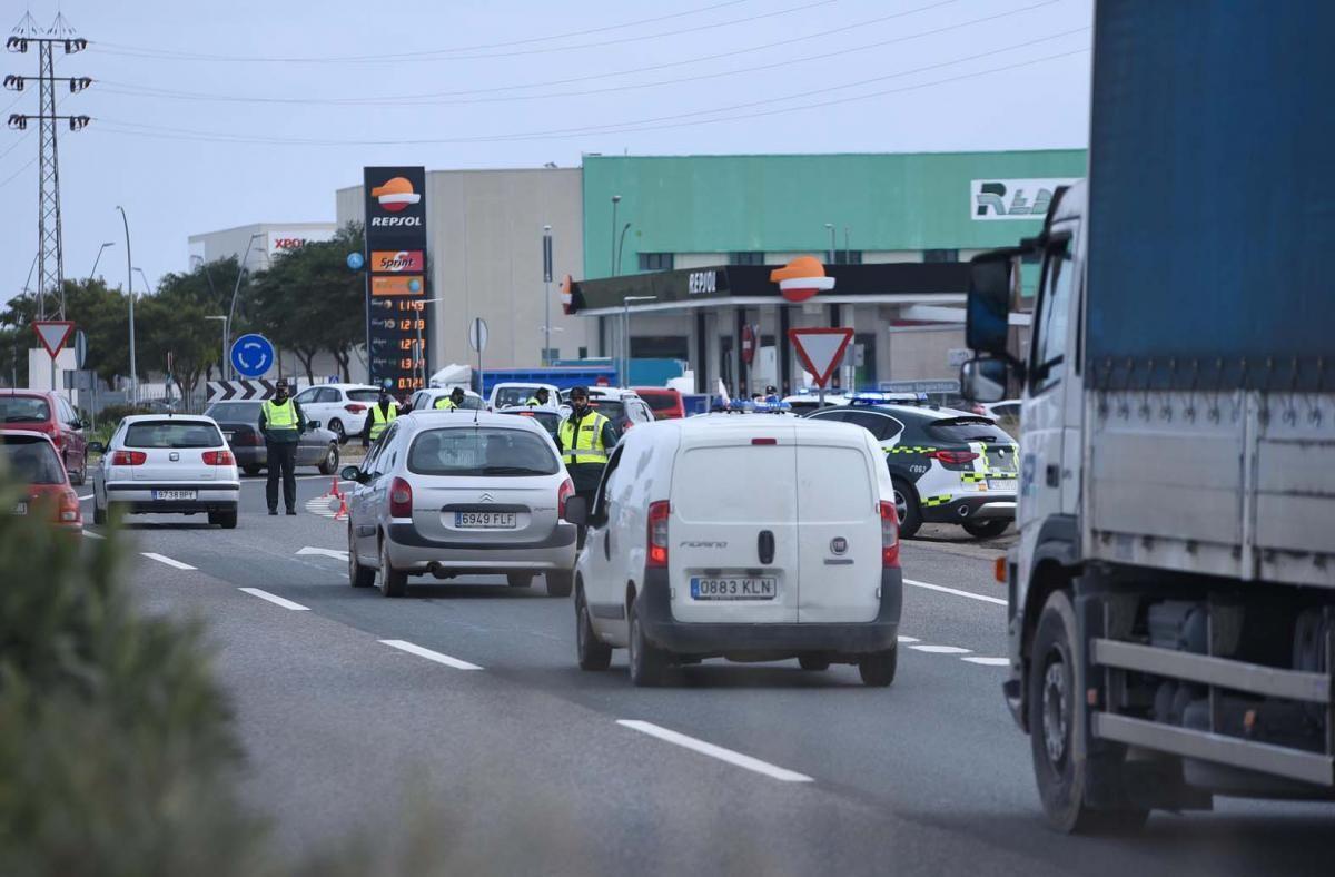 Controles perimetrales en Córdoba