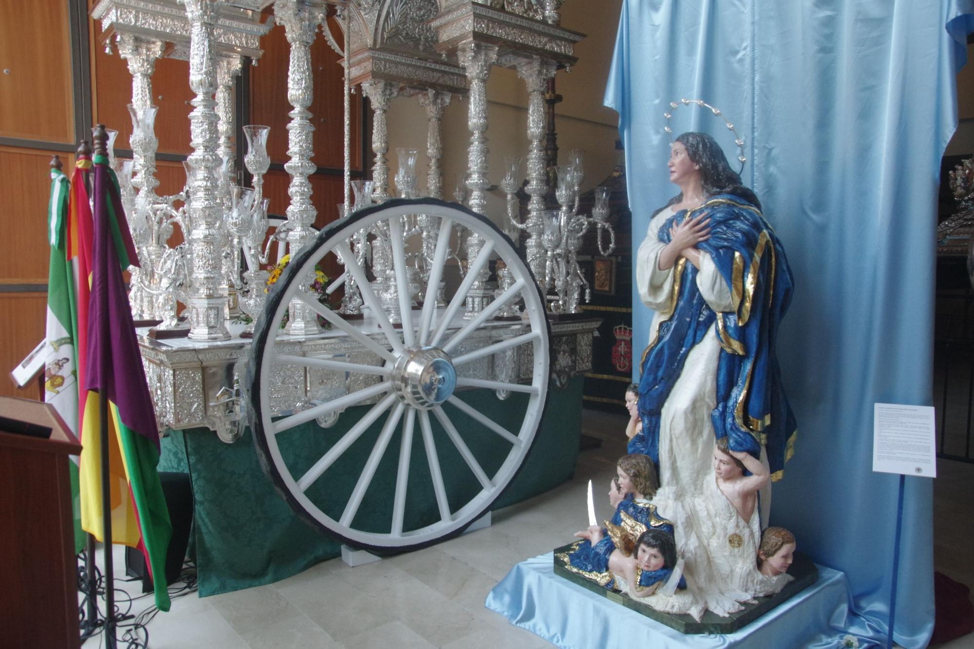 Exposición del patrimonio de las hermandades de Gloria de Málaga