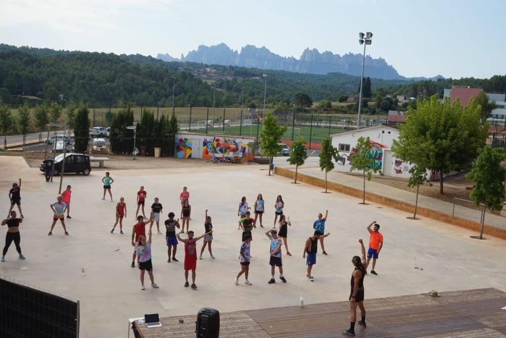 Masterclass de Bodycombat a càrrec de Pau Nacenta durant la Festa Major de Sant Salvador de Guardiola 2020