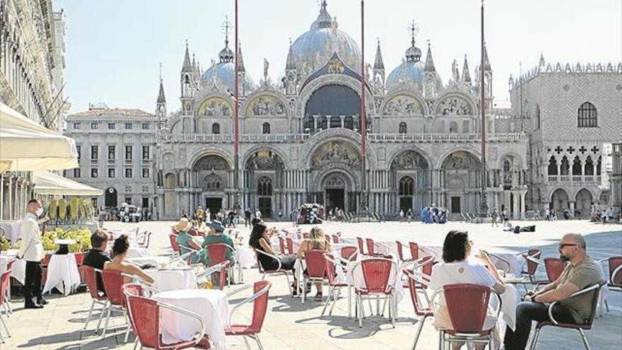 El covid favorece al fisco en Italia