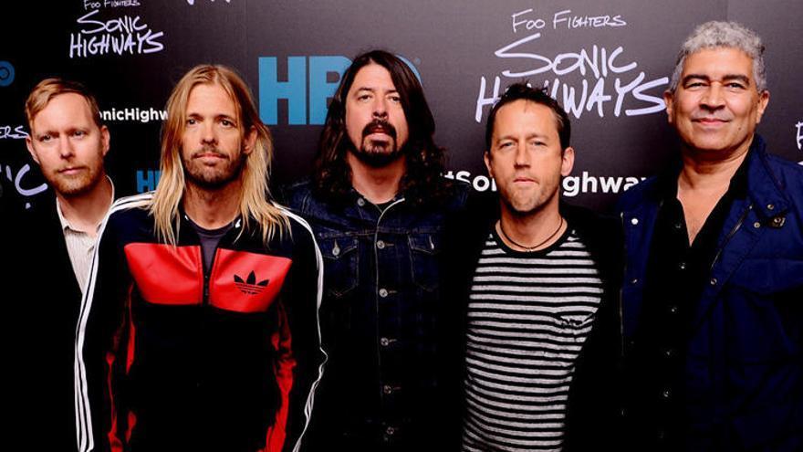 Foo Fighters dará en València su único concierto en España