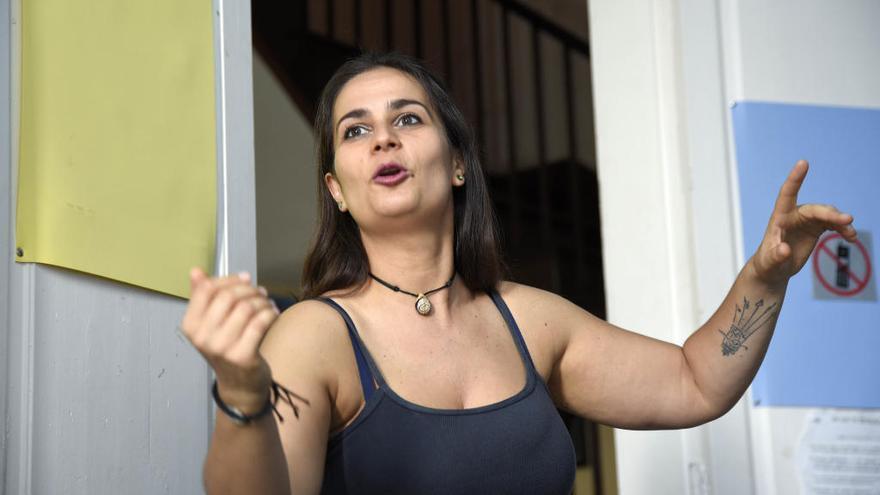 Gara Fierro, de solista a directora de la agrupación lírica Gran Tinerfe