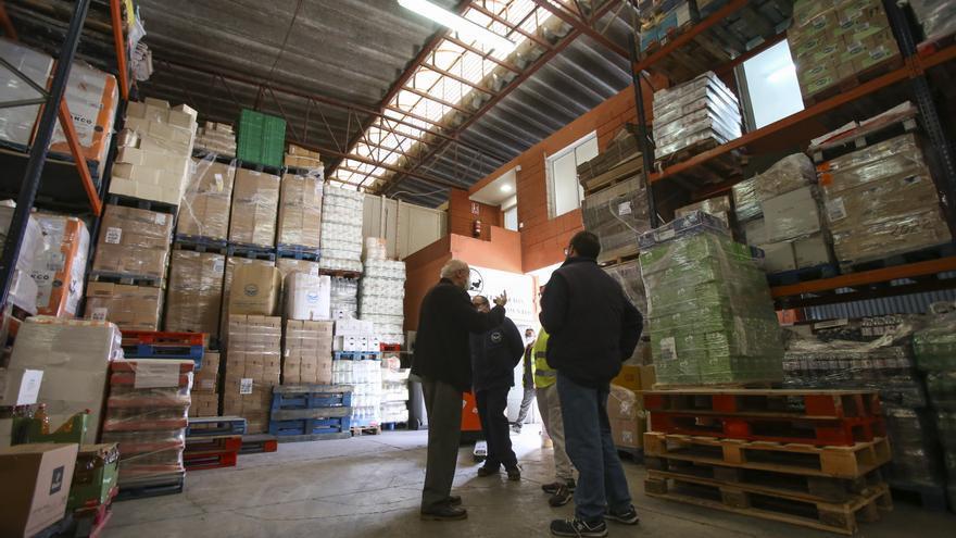 El PSOE pide un espacio municipal para depositar los víveres que dona el Banco de Alimentos de cara a su reparto