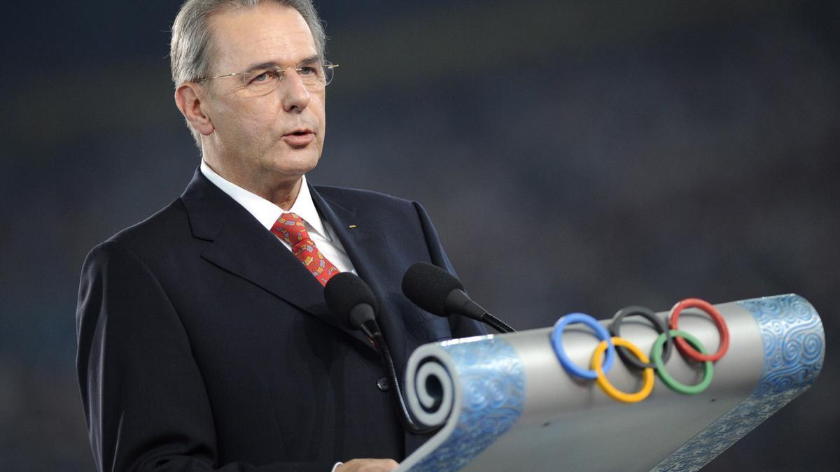 Jacques Rogge, en una imagen de los Juegos de 2008.