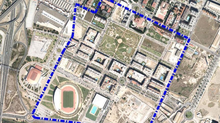 Málaga reducirá el tráfico y favorecerá a peatones y ciclistas en Parque Litoral
