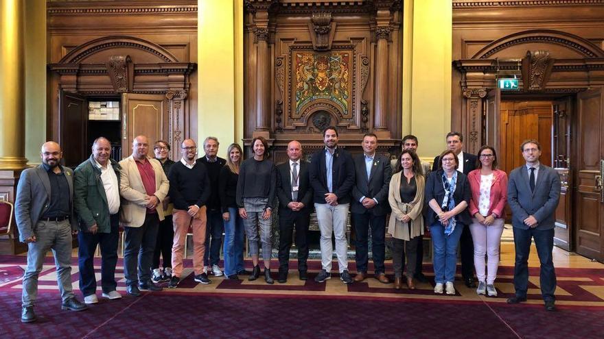 L'alcalde del Port de la Selva, de visita institucional a Escòcia amb l'AMI