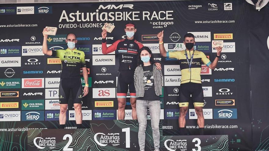 Esteban Sánchez brilla en la Asturias Bike Race