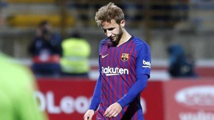 Sergi Samper rescindeix el seu contracte amb el Barça