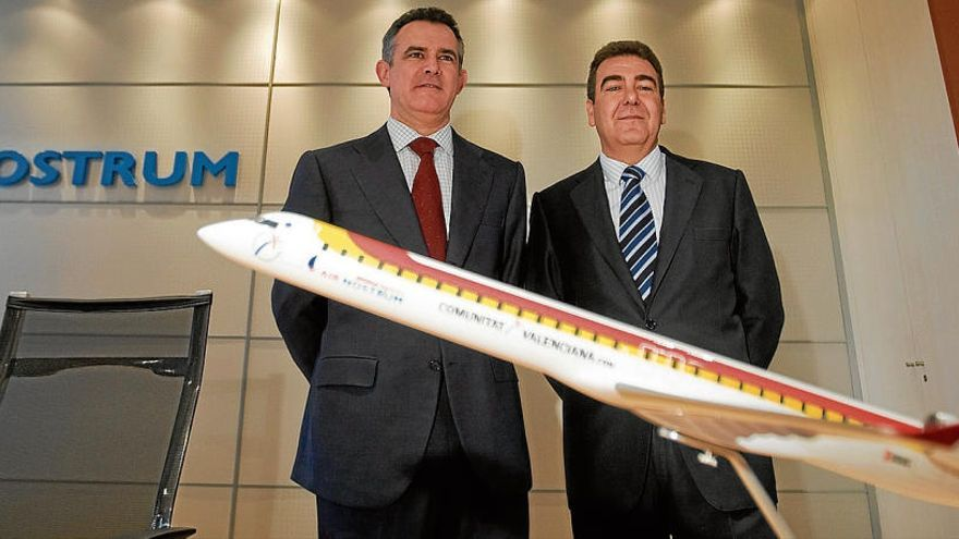 Los fundadores salen de Air Nostrum