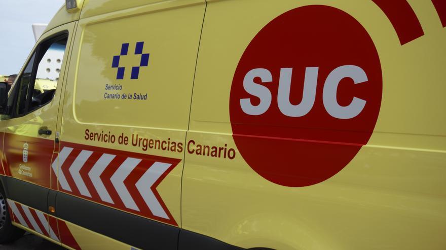 El SUC habilita a partir de este  martes una nueva ambulancia en Fuencaliente