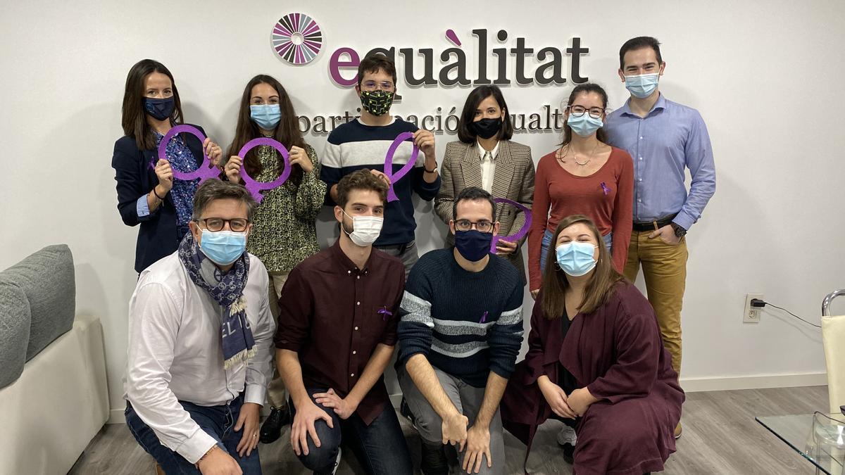 El equipo de la consultora social Equàlitat, participació i igualtat.