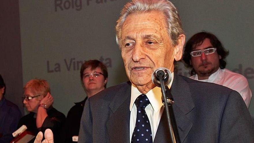 Mor als 90 anys l'empresari Artur Suqué, fundador del Grup Peralada