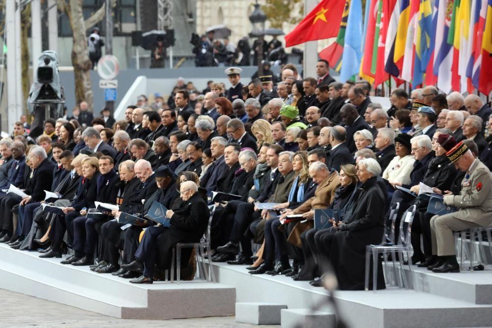 Conmemoración del fin de la Primera Guerra Mundial
