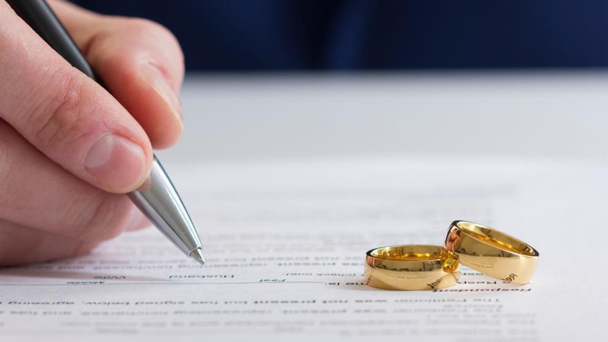 Más de 2,2 millones de parejas se han divorciado en 40 años en España