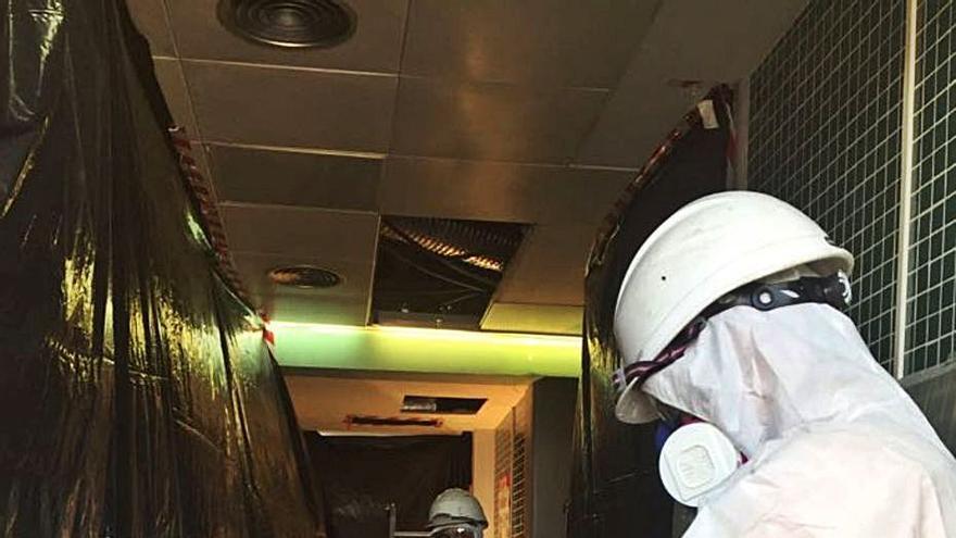 Una empresa de Catadau logra en siete años ser           la mejor para retirar amianto