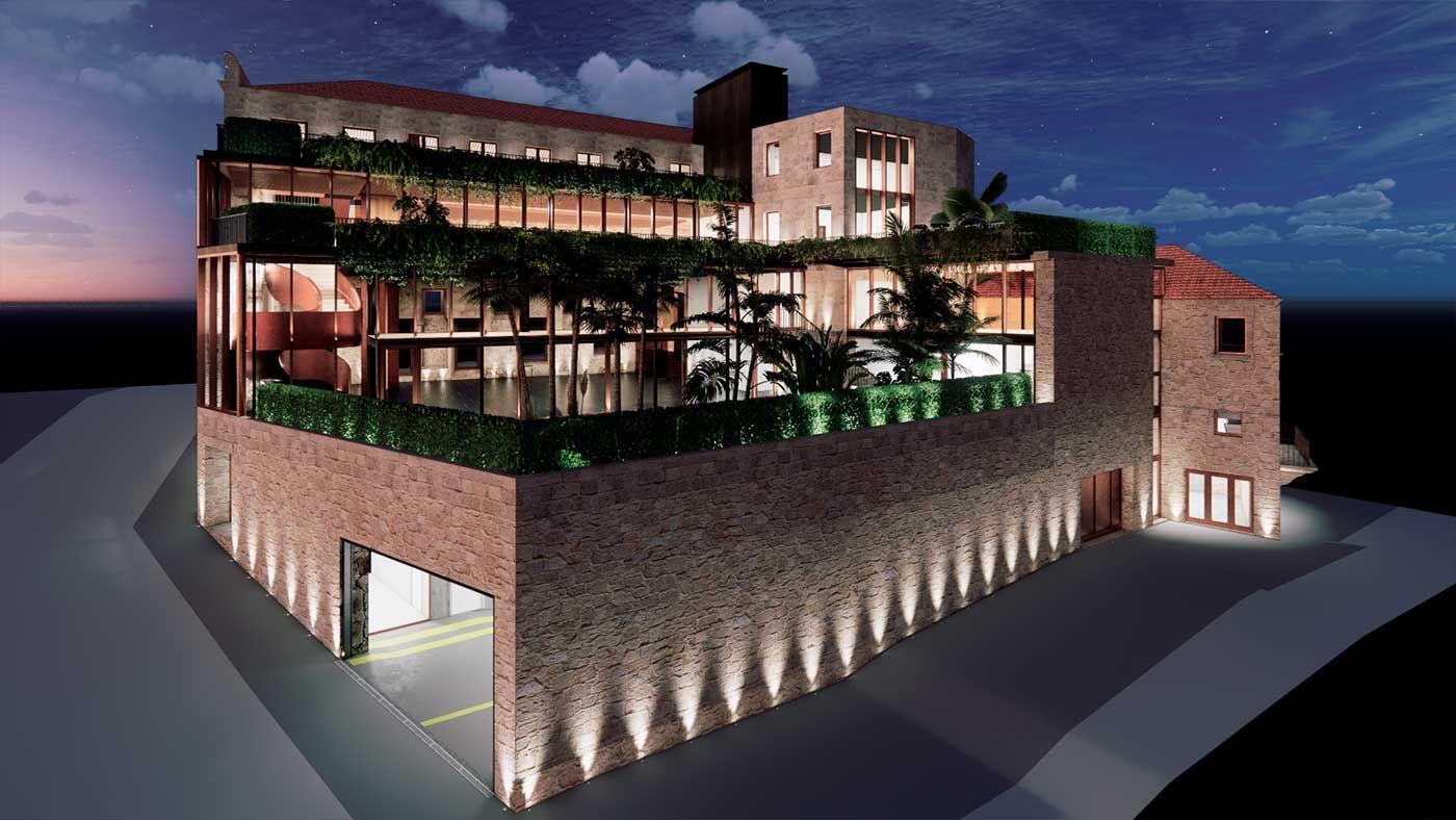 Así renacerá el pazo Marqués de Valladares en 2022-