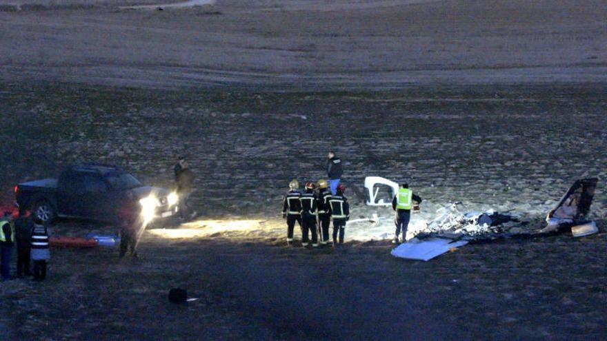 Dos muertos al estrellarse una avioneta en Toledo