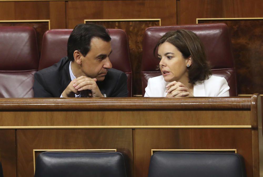 Debate de la moción de censura contra Rajoy