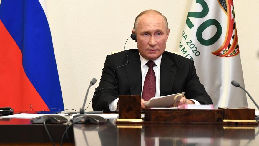 Putin recibe la segunda dosis de la vacuna contra el coronavirus
