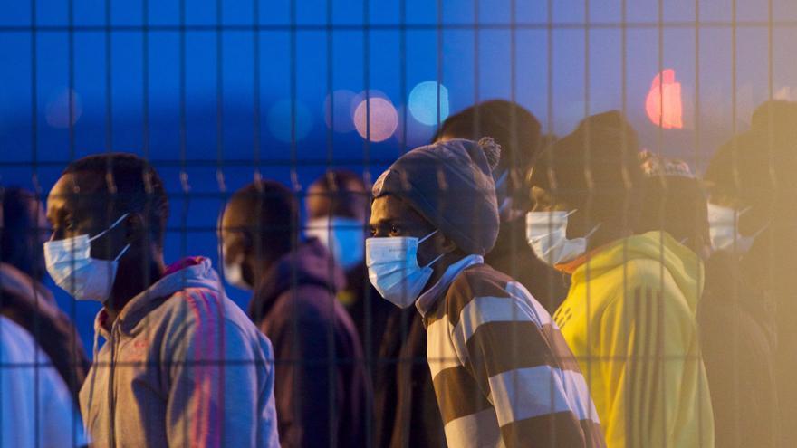 Llegada de migrantes a Fuerteventura (07/04/21)