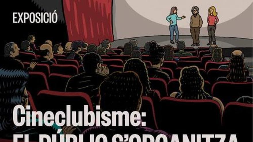 """Manresa homenatja la tasca cultural dels cineclubs amb l'estrena de l'exposició """"Cineclubisme: El públic s'organitza"""""""