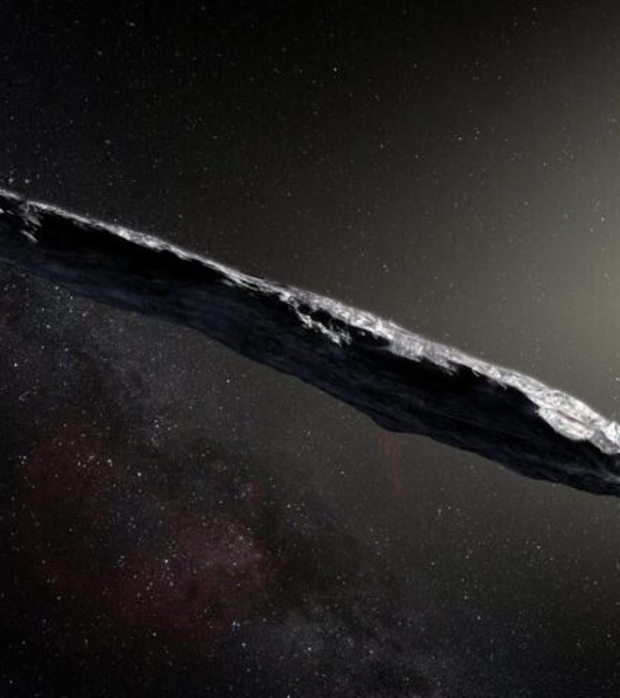 Los rayos cósmicos erosionan a los visitantes interestelares