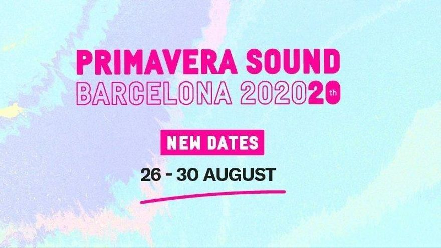 El Primavera Sound se pospone hasta agosto