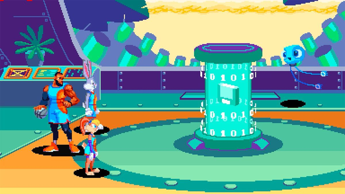 Una imagen de 'Space Jam Game: The New Legacy'.