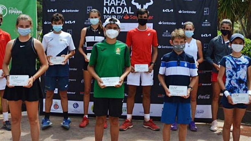 El Rafa Nadal Tour de Valencia corona a sus campeones