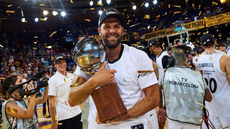 Felipe Reyes, cuarto anotador histórico de la ACB
