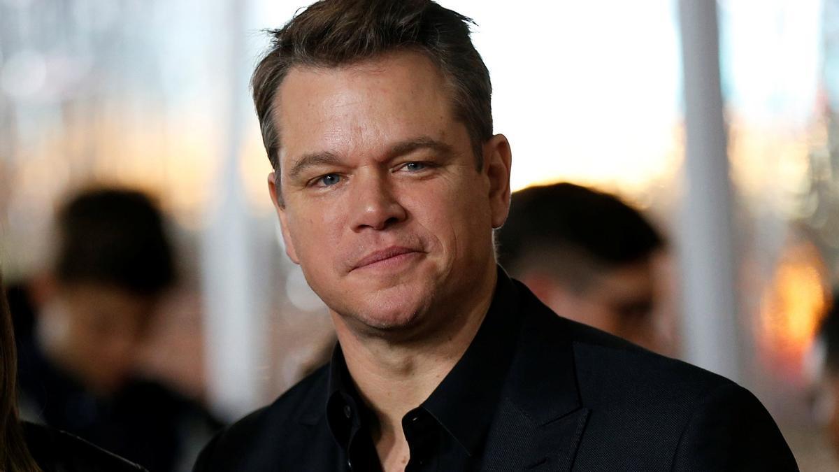 Matt Damon, en una imagen de archivo