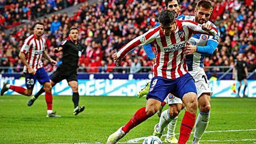 L'Espanyol s'avança però no pot frenar l'Atlètic de Madrid al Wanda Metropolitano (3-1)