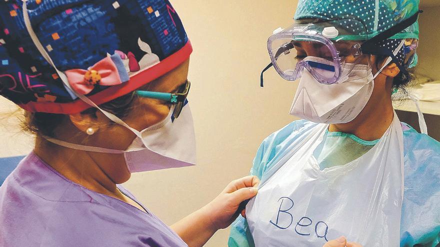 Canarias registra solo tres casos de coronavirus entre sanitarios en una semana