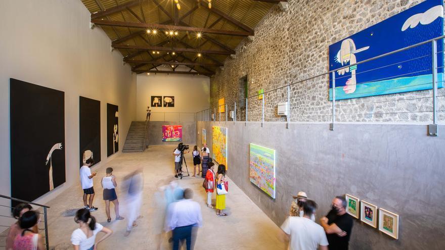 La Nave de ses Salines, en Ibiza, se abre al arte español emergente con Rafa Macarrón