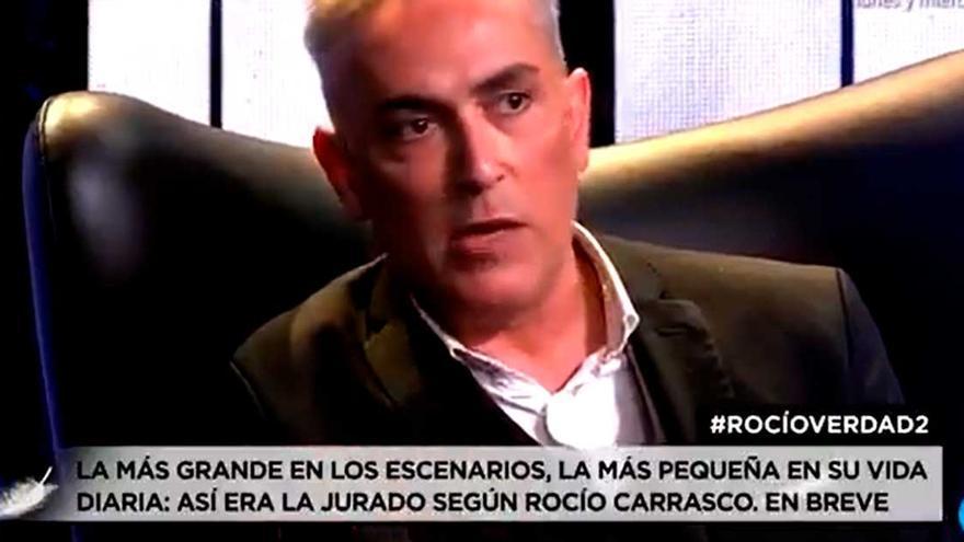 """La frase tajante de Kiko Hernández tras el documental de Rocío Carrasco: """"Me alegro de no ser compañero de Antonio David Flores. No sabes cuánto"""""""