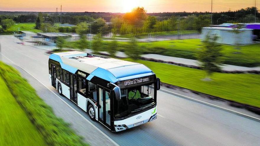 El hidrógeno verde se sube al autobús