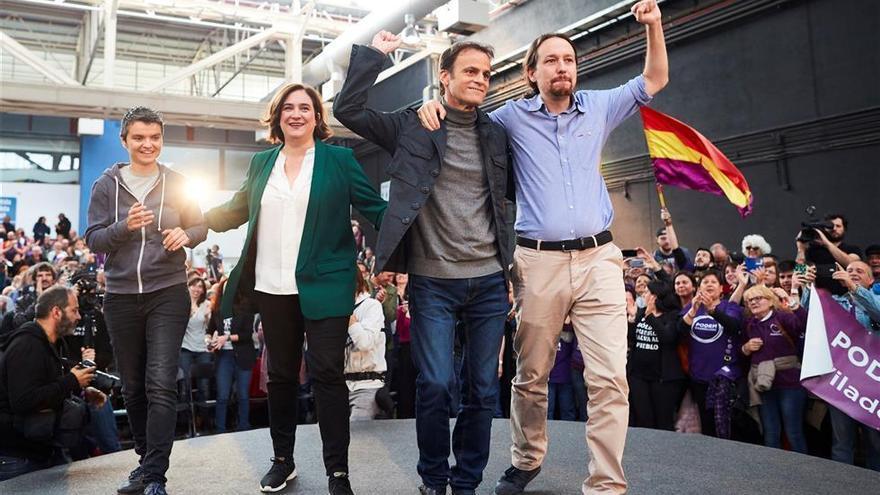 Iglesias, en busca del voto socialista