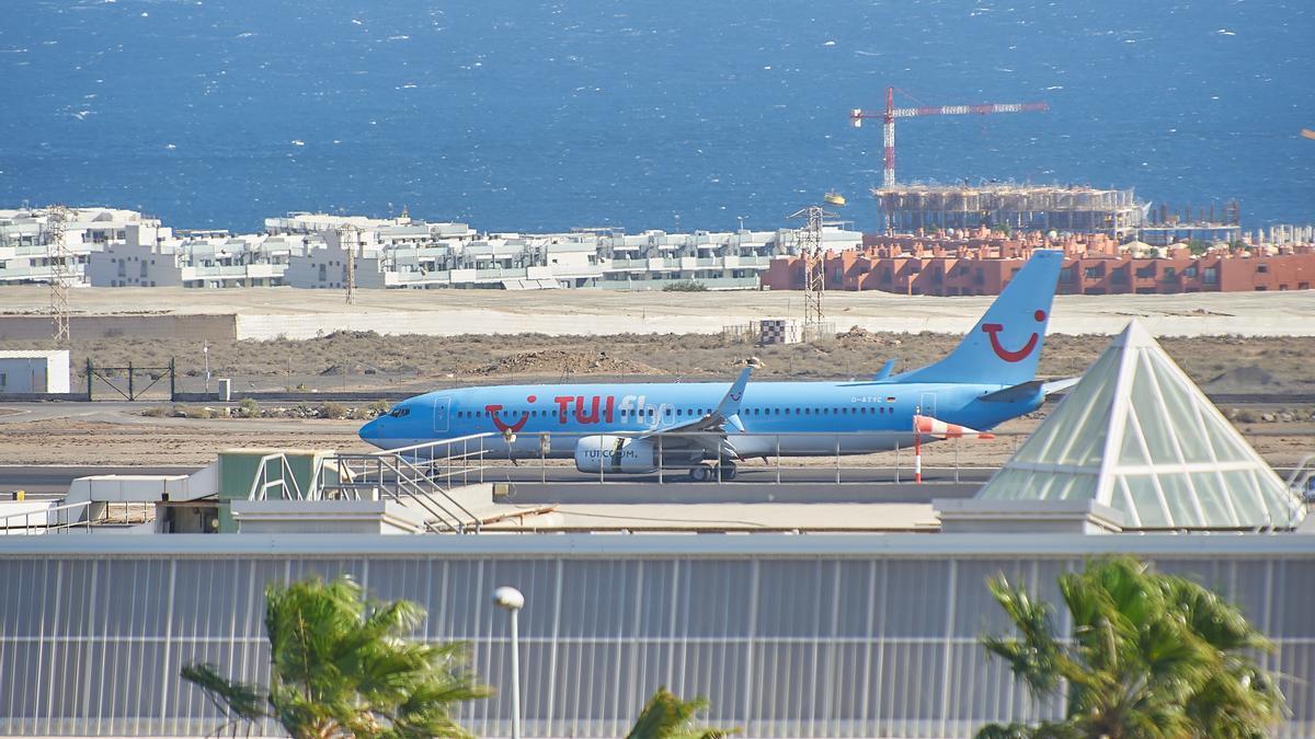 Avión de la compañía TUI