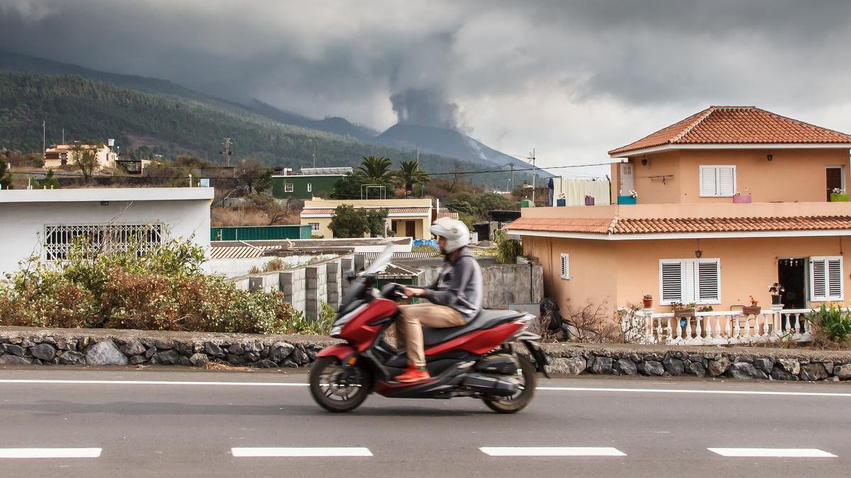 Volcán de 'Cumbre Vieja' en La Palma.