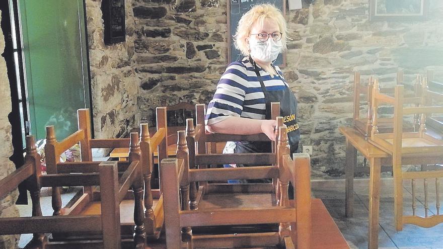 Desescalada en Galicia | Bares patas arriba en Abegondo