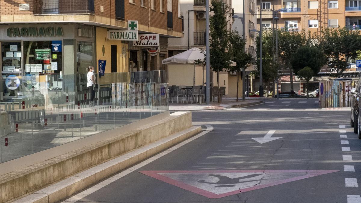 Lugar donde se produjo el tiroteo en Salamanca.