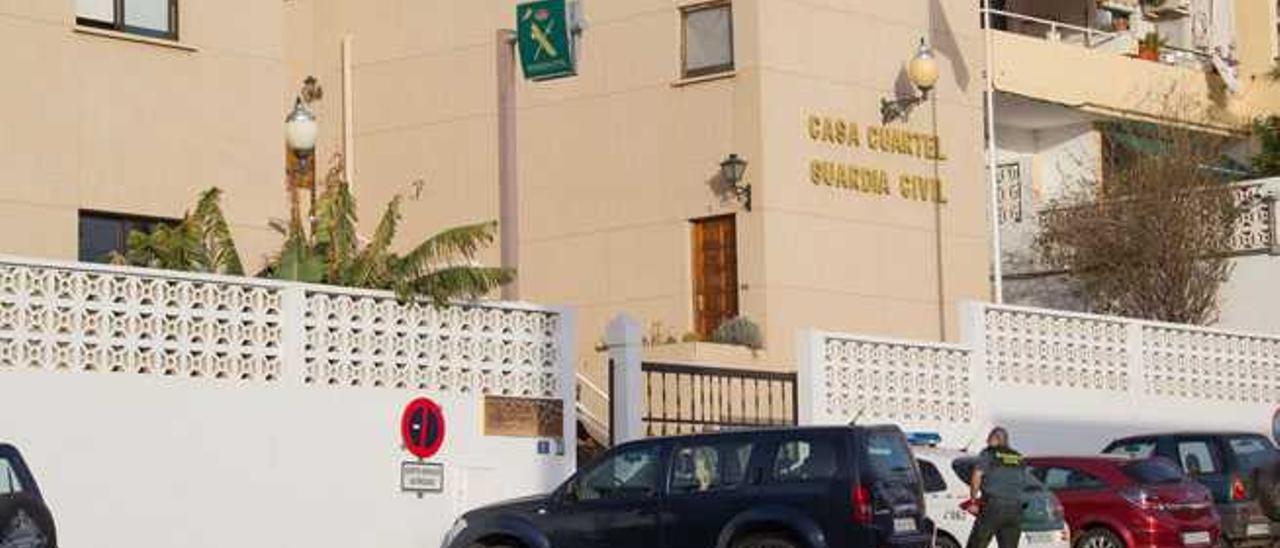 Casa cuartel de la Guardia Civil en Morro Jable.
