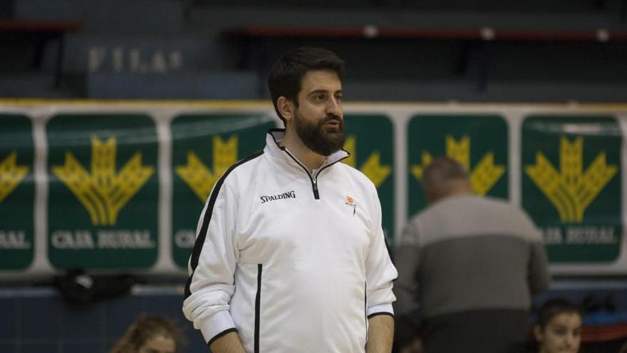 David Barrio, presidente de la Asociación de Entrenadores de Castilla y León