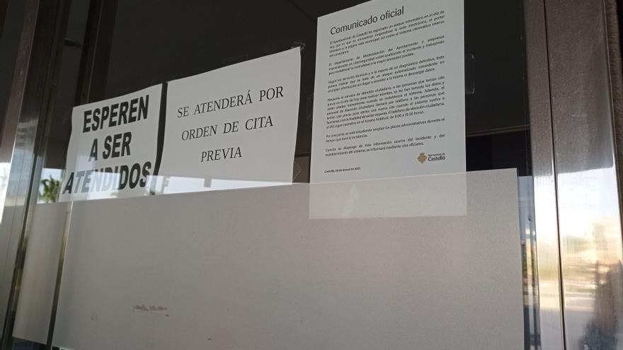 La virulencia del 'hackeo' deja aún sin fecha la vuelta a la normalidad en Castelló