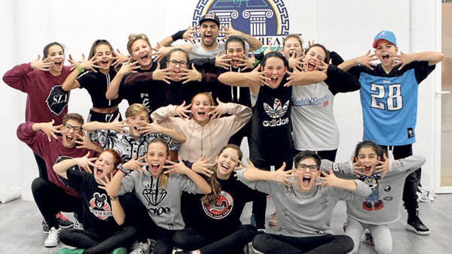 Kidz on the Block: die Energie der Straße tanzen