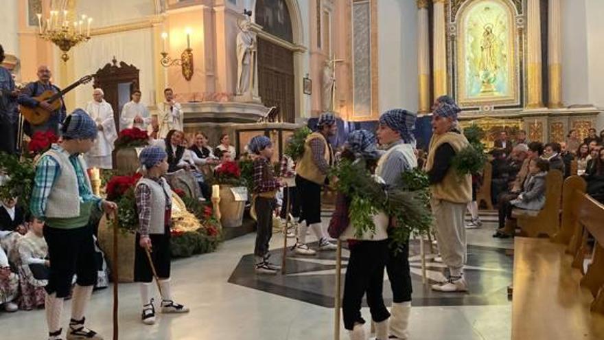 Vilamarxant celebra el 40 aniversario de la «Dansa dels pastorets» en Navidad