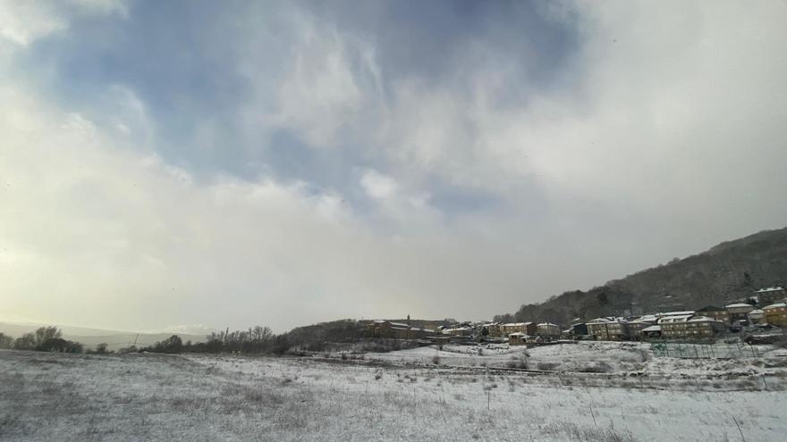 Sanabria marca la temperatura más baja de Castilla y León: 8,8 grados bajo cero
